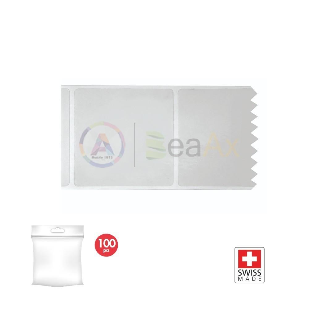 Adesivo elettrostatico di protezione 60x60 mm - Confezione 100 pz. ADESIVI-VETRO