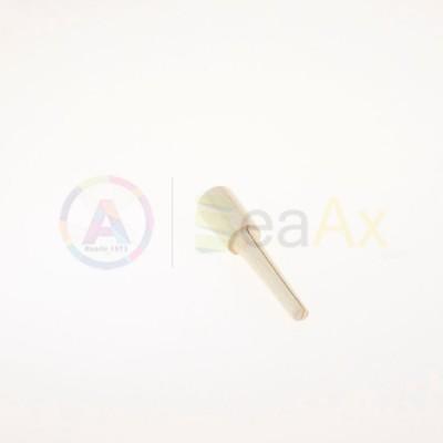 Fuso in legno conico per lucidatura intaglio centrale per carta vetrata o panno