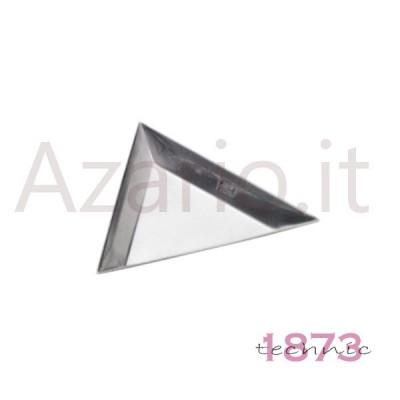 Vassoio portapezzi triangolare in alluminio 80x11 mm - Confezione 5 pz.