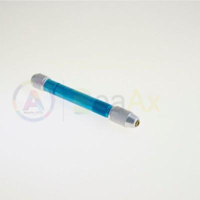 Morsetto in alluminio con 3 lime in acciaio testa diamantata AG0102
