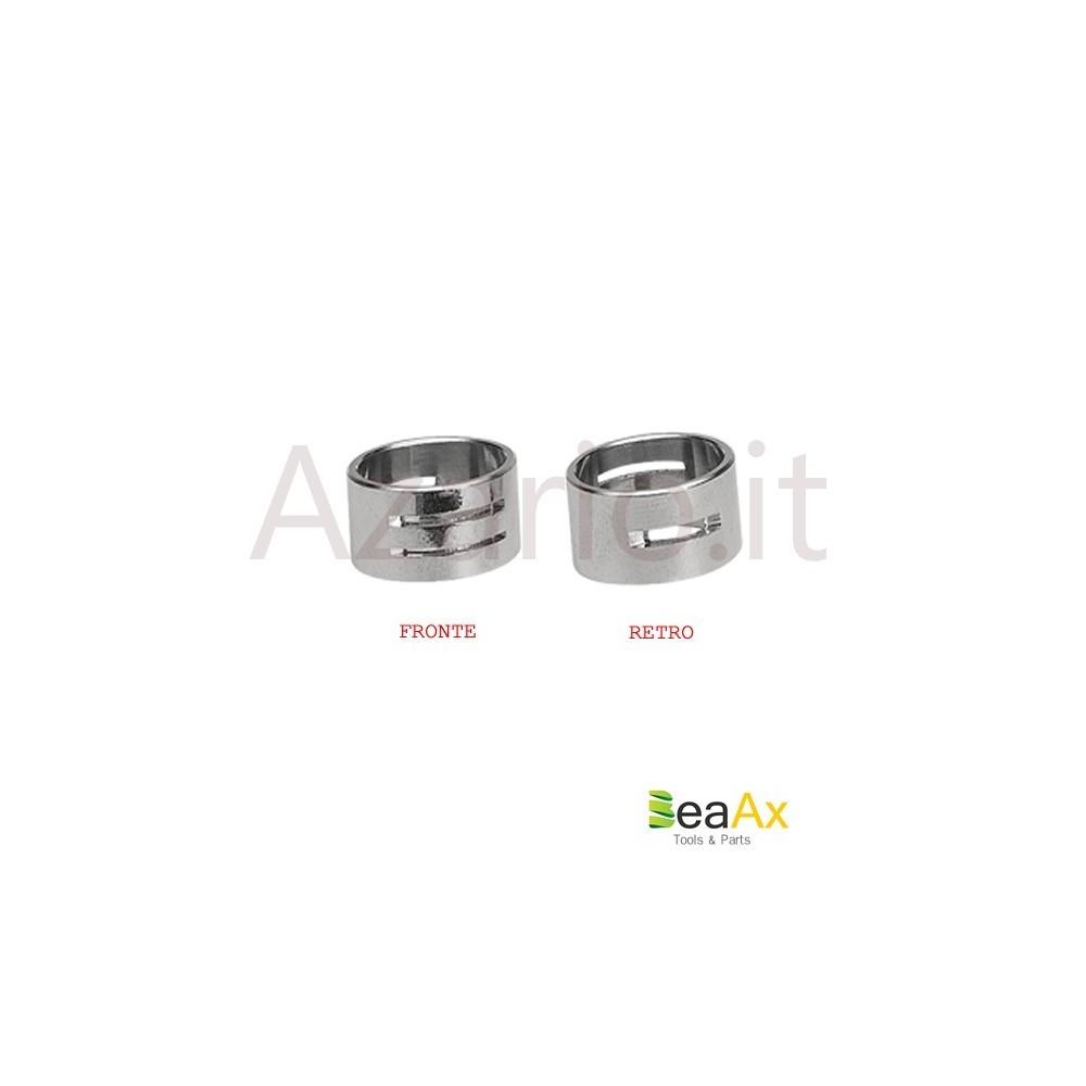 Anello jump ring in metallo con 3 punti di innesto. AG0108