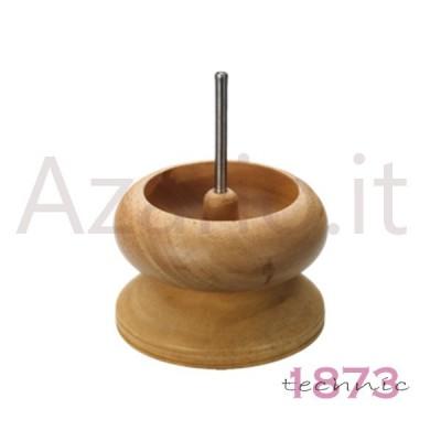 Bead spinner in legno infilatura perle e perline ø 150 H. 120 mm