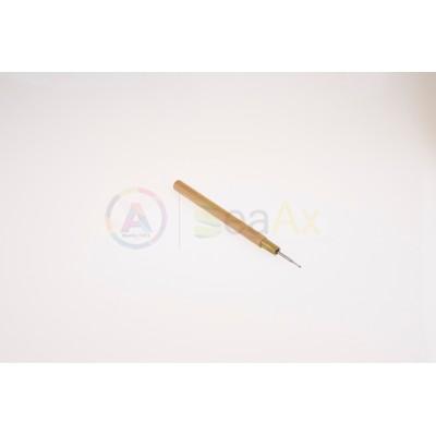 Strumenti affila rifinisci perni con manico in legno ø 1.50 mm lunghezza 140 mm