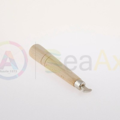 Chiave apricasse fondi Swatch Suunto con testa in metallo e manico in legno AG0141