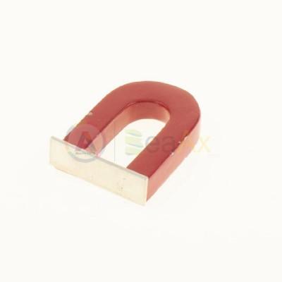 Magnete calamita 'U' forma standard 50x30x5 mm verniciata per prova metalli