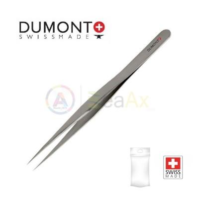 Pinzetta Dumont standard n° 3 in acciaio inox 02 con punte dritte