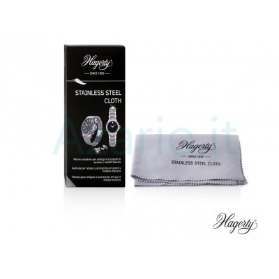 Hagerty Stainless Steel Cloth panno pulizia acciaio inox orologi - 30x36 cm