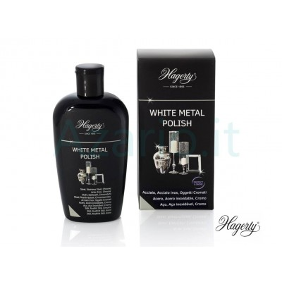 Hagerty White Metal Polish crema pulizia cromature ed acciaio inox - 250 ml