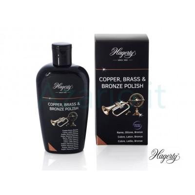 Hagerty Copper Brass & Bronze Polish crema pulizia ottone bronzo ottone - 250 ml H116041