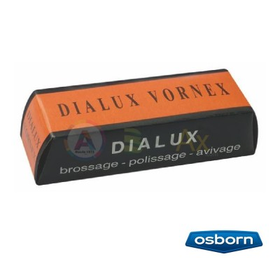 Dialux Vornex polishing compound brushing or pre-polishing clears the scrtaches