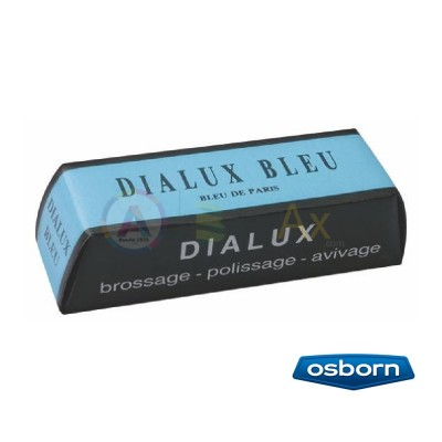 Pasta per lucidare Dialux Blu da usare con spazzole per superfinitura metalli