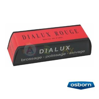 Pasta per lucidare Dialux Rosso da usare con spazzole brillantatura oro argento