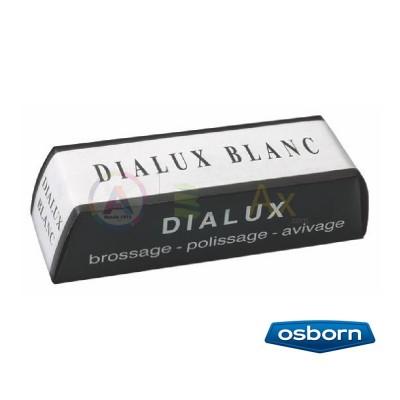 Pasta per lucidare Dialux Bianco da usare con spazzole per brillantatura di tutti i metalli.