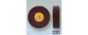 Spazzola circolare scotch brite UTG finitura satinatura grana fine - ø 100 mm