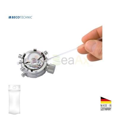 Cleaning stick in plastica testa gommata adesiva ø 2 mm L. 150 mm e pad adesivo
