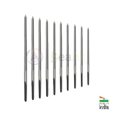 Assortimento di 10 alesatori pentagonali ø 0.80 - 2.60 mm in acciaio WS Anchor TS0006