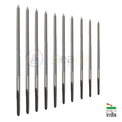 Assortimento di 10 alesatori pentagonali ø 0.90 - 4.00 mm in acciaio WS Anchor TS0007