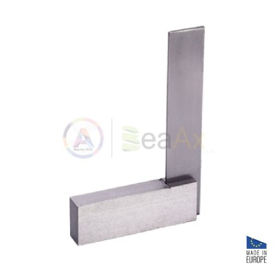 Roch flat and try 90° square, non hardened steel 182x100 mm