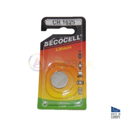 Battery Lithium Becocell CR 1625