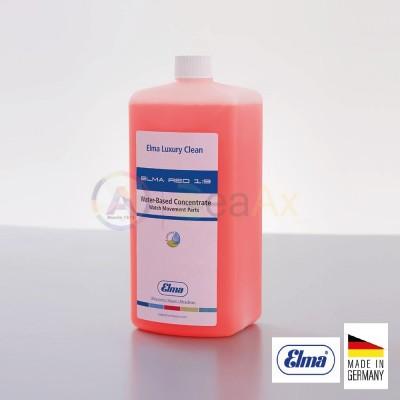 Liquido di lavaggio concentrato Elma RED flacone 1.0 lt. pulizia diluzione 1:9