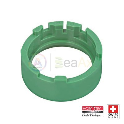 Portamovimento in plastica verde Horotec per ETA cal. 2824