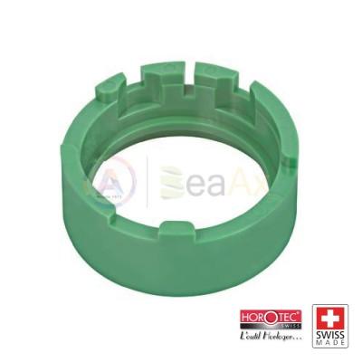 Portamovimento in plastica verde Horotec per ETA cal. 2824 MSA-09.050-02