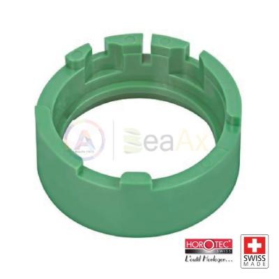 Portamovimento in plastica verde Horotec per Valjoux ETA cal. 7750 MSA-09.050.01