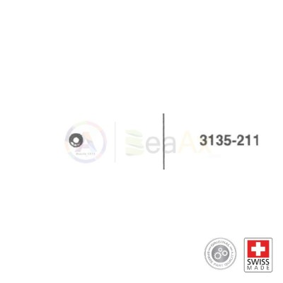 Nocciolo della ruota corona n° 211 per movimento Rolex cal. 3135 ricambio originale RX.3135.211