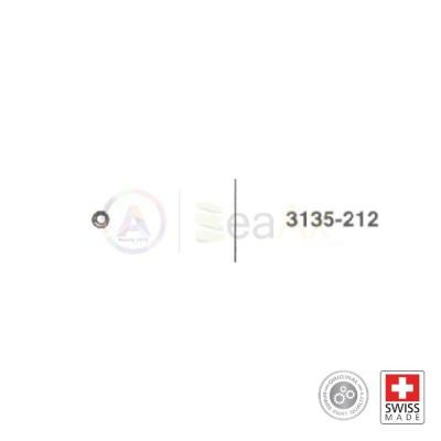 Nocciolo ruota corona intermedia n° 212 per movimento Rolex cal. 3135 ricambio originale