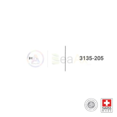Pignone scorrevole n° 205 per movimento Rolex cal. 3135 ricambio originale