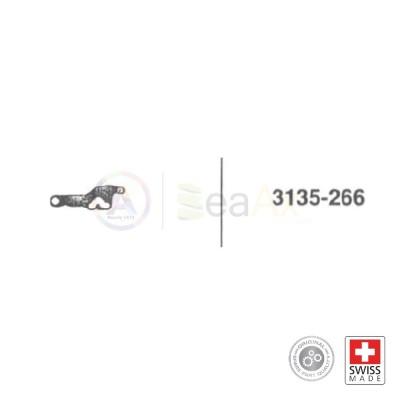 Bascula del rinvio n° 266 per movimento Rolex cal. 3135 ricambio originale