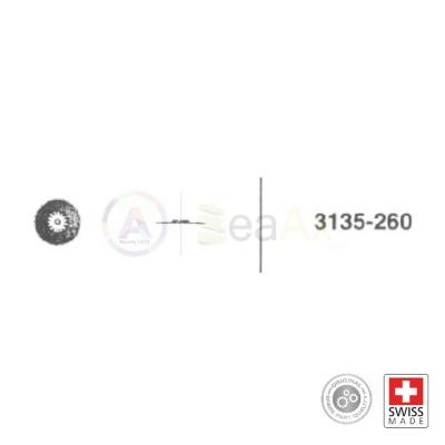 Ruota minuteria n° 260 per movimento Rolex cal. 3135 ricambio originale
