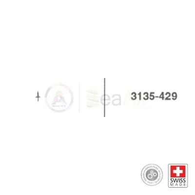 Asse del bilanciere n° 429 per movimento Rolex cal. 3135 ricambio compatibile
