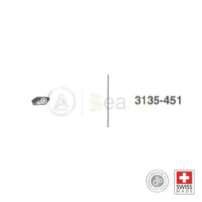 Brida del portapitone n° 451 per movimento Rolex cal. 3135 ricambio originale  RX.3135.451