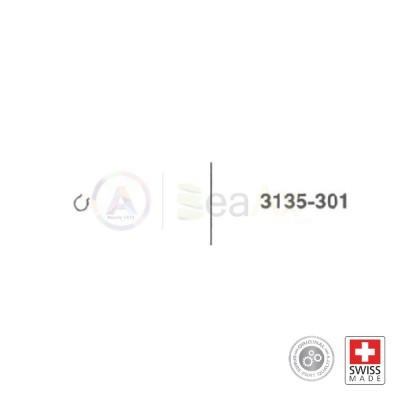 Molla del cricco n° 301 per movimento Rolex cal. 3135 ricambio originale  RX.3135.301