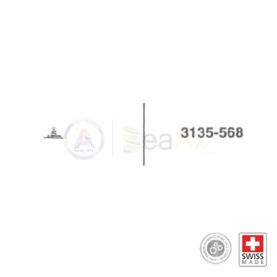 Asse della massa oscillante n° 568 movimento Rolex cal. 3135 ricambio originale