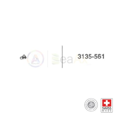Brida della chiavetta n° 561 movimento Rolex cal. 3135 ricambio originale  RX.3135.561