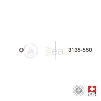 Pignone massa oscillante n° 550 movimento Rolex cal. 3135 ricambio originale