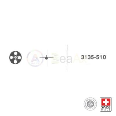 Ruota conduttrice rocchetto n° 510 movimento Rolex cal. 3135 ricambio originale  RX.3135.510