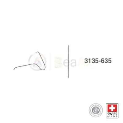 Molla bascula della camma n° 635 per movimento Rolex cal. 3135 ricambio originale RX.3135.635