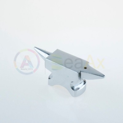 Tassello incudine bicornia resistente da banco acciaio forgiato temprato 450 g AG0002
