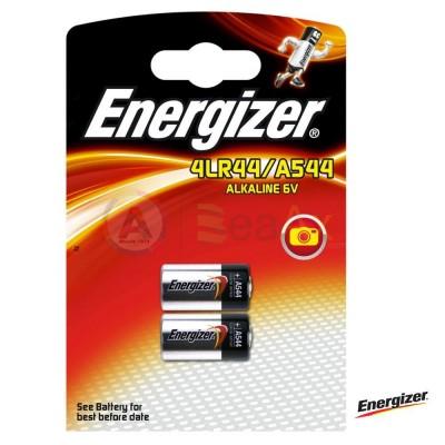 Pila Energizer A544 - 4LR44 / V4034PX Alkaline 6 volt. in blister con 2 batterie