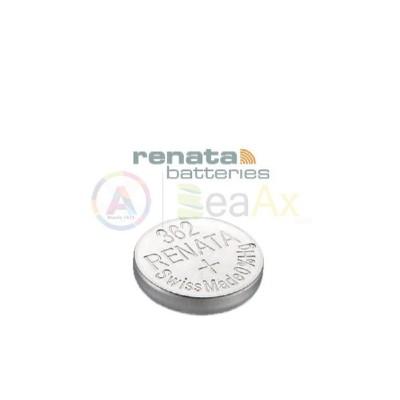Pila Renata 384 - SR41SW - Mercury Free 0% 384R