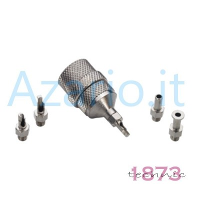 Albero di supporto per flessibile e mini trapano completo di 4 accessori