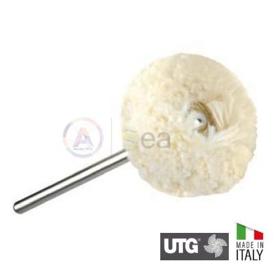 Spazzolino serie Gamma a disco in filo di cotone ø 25 mm - UTG Made in Italy UTG-GAMMA4500