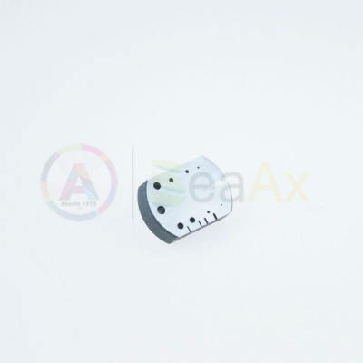 Incudine in acciaio temprato 9 fori 4 tacche feritoia a coda di rondine 80 g. AG0008-A-19