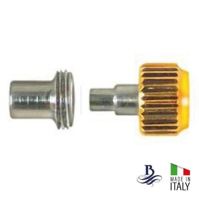 Corona a vite laminata forma RX con tubo cassa e guarnizione - Made in Italy B-105D