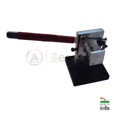 Cesoia morsa trancia filo con base per banco da lavoro AG0191
