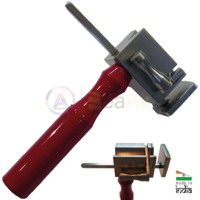 Morsetto taglia cerniere con squadretta regolabile 95 mm manico laterale metallo