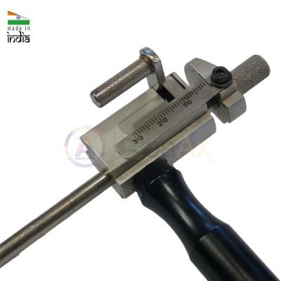 Morsetto taglia cerniere squadretta di precisione 90 mm manico laterale metallo